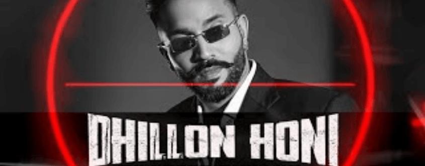 Dhillon Honi Lyrics